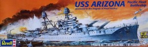 MONOGRAM 0302 - 1/426 USS ARIZONA BATTLESHIP