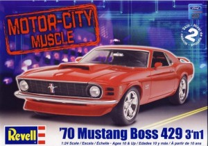 MONOGRAM 2149 - 1/24 '70 MUSTANG BOSS 429 3 in 1
