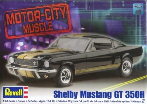 MONOGRAM 2482 - 1/24 Shelby Mustang GT 350H