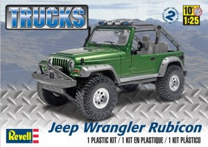 MONOGRAM 4053 - 1/25 Jeep Wrangler Rubicon