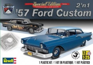 MONOGRAM 4283 - 1/25 '57 Ford Custom 2in1