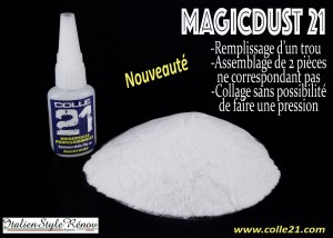 COLLE 21 - MAGICDUST 40g UTWARDZACZ DO KLEJU CA