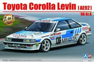 BEEMAX 24010 - 1/24 Toyota Levin AE92 Gr.A 1988