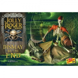 Model plastikowy - Figurka Jolly Roger Series: Dismay Be The End 1:12 - Lindberg