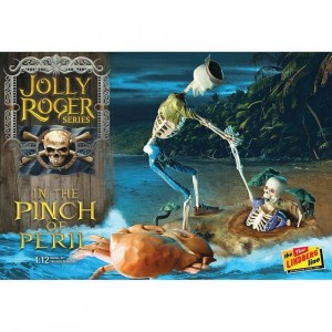 Model plastikowy - Figurka Jolly Roger Series: In the Pinch of Peril 1:12 - Lindberg