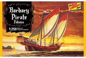 Model plastikowy - Statek piracki Barbary Pirate Ship - Lindberg