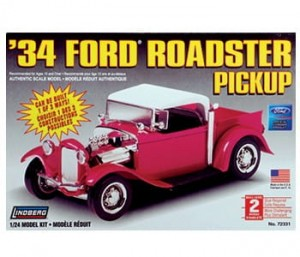Model plastikowy - 1934 Ford Roadster Pick-Up - Lindberg
