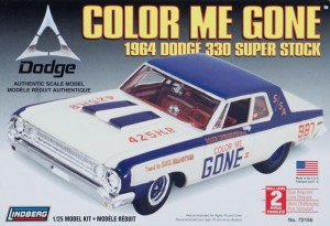 Model plastikowy Lindberg - 1964 Dodge color me gone