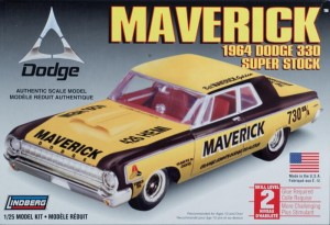 Model plastikowy Lindberg - 1964 Dodge Maverick