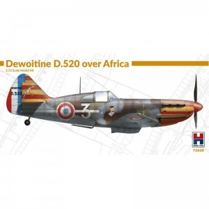 Hobby 2000 72026 Dewoitine D.520 over Africa