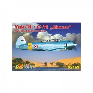 Rs Models 92169 Yak-11/C-11 Moose