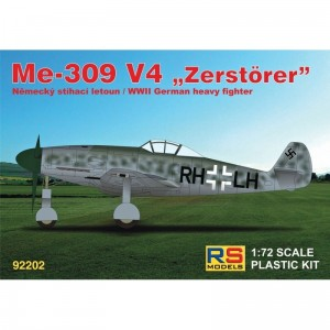 RS Models 92202 Messerschmitt Me 309 V4 1/72