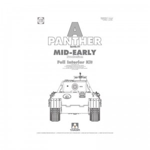 Takom 2098 SdKfz 171 Panther A Mid-Early w/int.