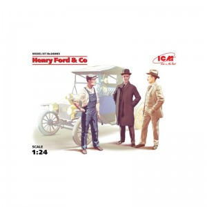 Icm 24003 Henry Ford & Co ( 3 Figures)