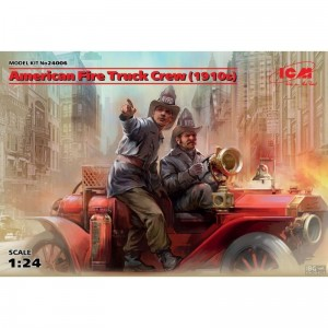 ICM 24006 American Fire Truck Crew (1910s) - 2 Fig