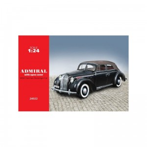 Icm 24022 Admiral Cabriolet W/Open