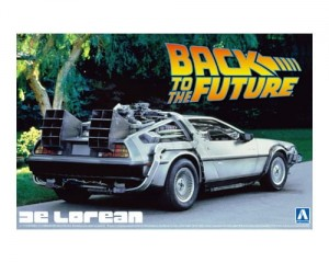 1/24 BACK TO THE FUTURE DE LOREAN from PART I