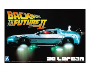 1/24 BACK TO THE FUTURE DE LOREAN from PART II