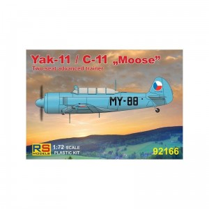 Rs Models 92166 Yak-11 / C-11 Moose