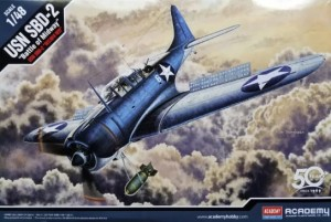 "Academy 12335 USN SBD-2 ""Battle of Midway"" - 1/48"