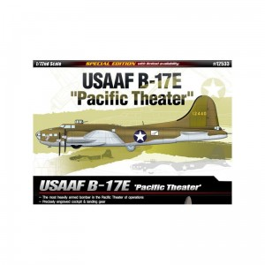 Academy 12533 Boeing B-17E USAAF Pacific Theater - 1/72