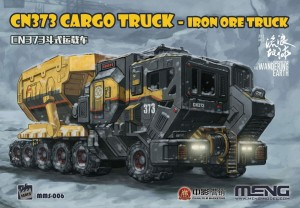 Meng MMS-006 The Wandering Earth CN373 Cargo Truck-Iron Ore Truck 1/200
