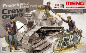 Meng HS-005 French FT-17 light tank crew & ordery 1/35