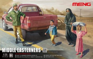 Meng HS-001 Middle Easterners 1/35