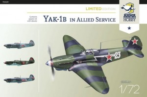 Arma Hobby 70029 Jak-1b Allied Fighter 1/72