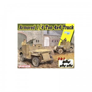 Dragon 6727 Armored 1/4-ton Truck w/50MG  1/35