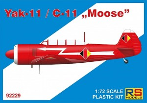 "RS Models 92229 Yak -11/C-11 ""Moose"""