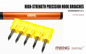 Meng MTS-032 High-strenght Precision Hook Broaches