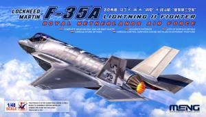 Meng LS-011 Lockheed Martin F-35A Lighting II Fighter Riyal Netherl AirForce