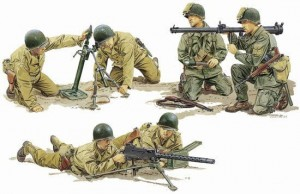 Dragon 6198 Us Army Support W. 1/35
