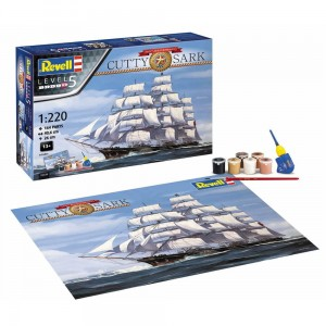 Revell 05430 Zestaw UpominkowyCutty Sark 150Th Ann