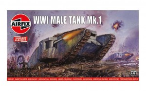 Airfix 01315V WWI Male Tank - 1/76