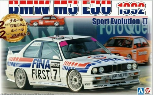 BEEMAX 24018 - 1/24  Bmw M3 E30 Rally Group A-13514